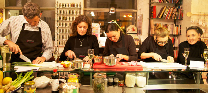 Fish Cookery Class at Babette's
