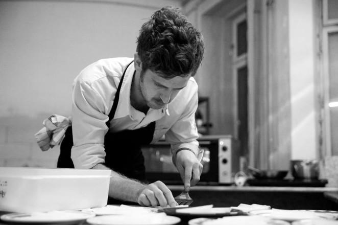 Betonküche mit Michael Wolf