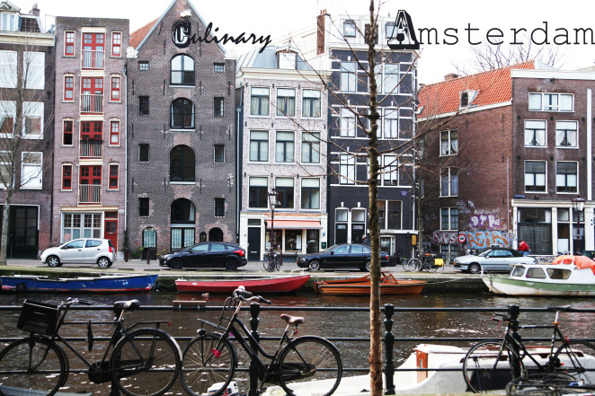 Exploring lifestyle & the culinary site of Amsterdam