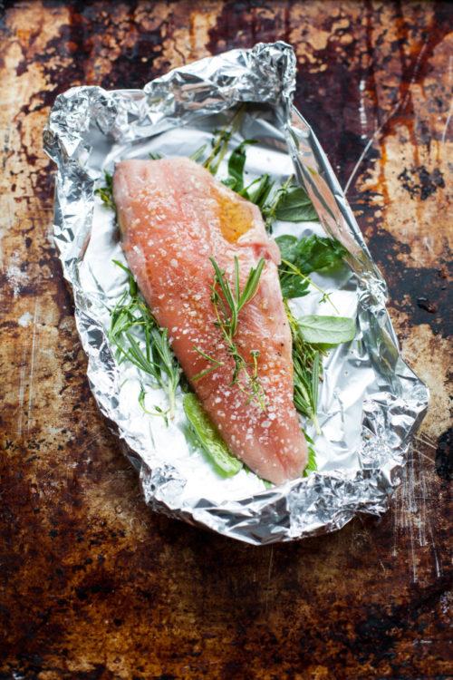 Bild für 50 x Fisch für die Feldküche im MAK