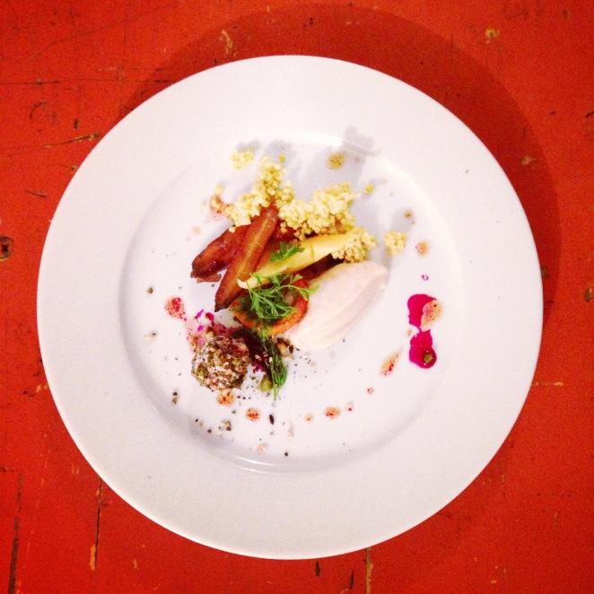 Das letzte Betonküchen-Mahl by Bernadette Wörndl