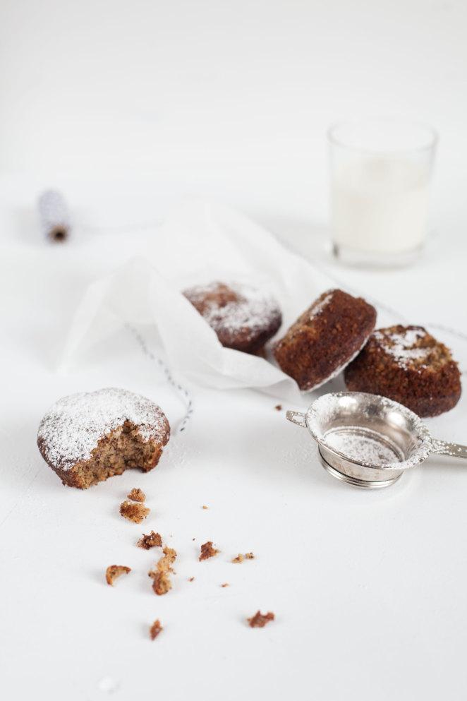 Low-carb Muffins mit Mohn und Kokosöl