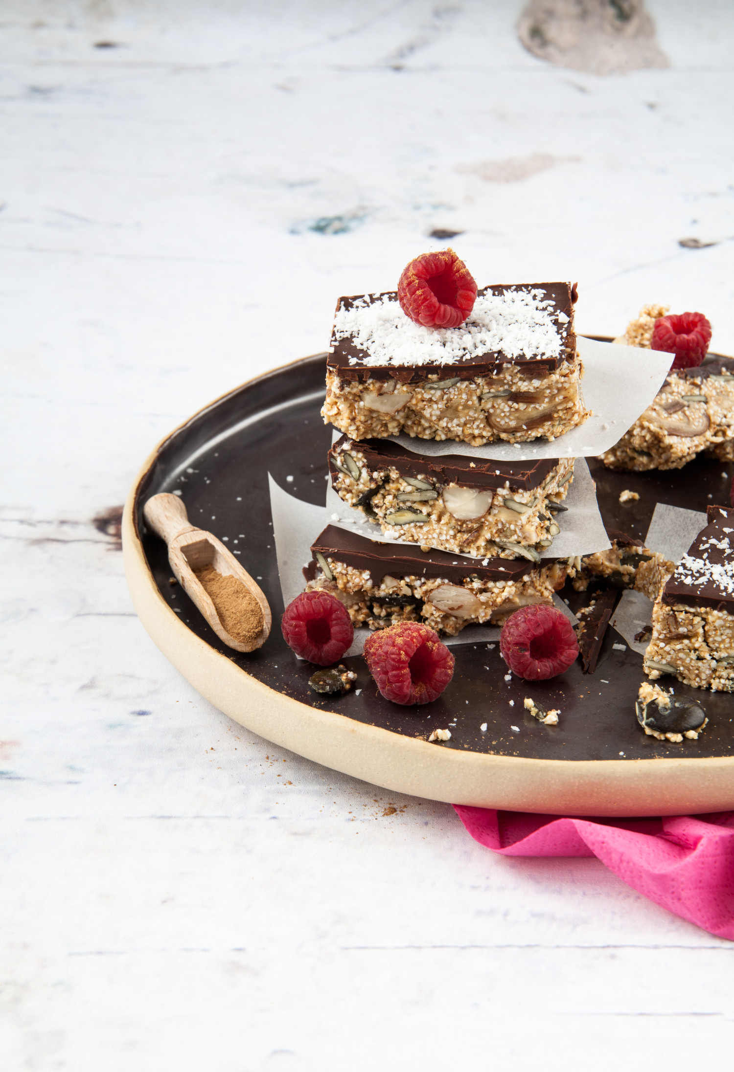 Energy Brownies with Power Spices