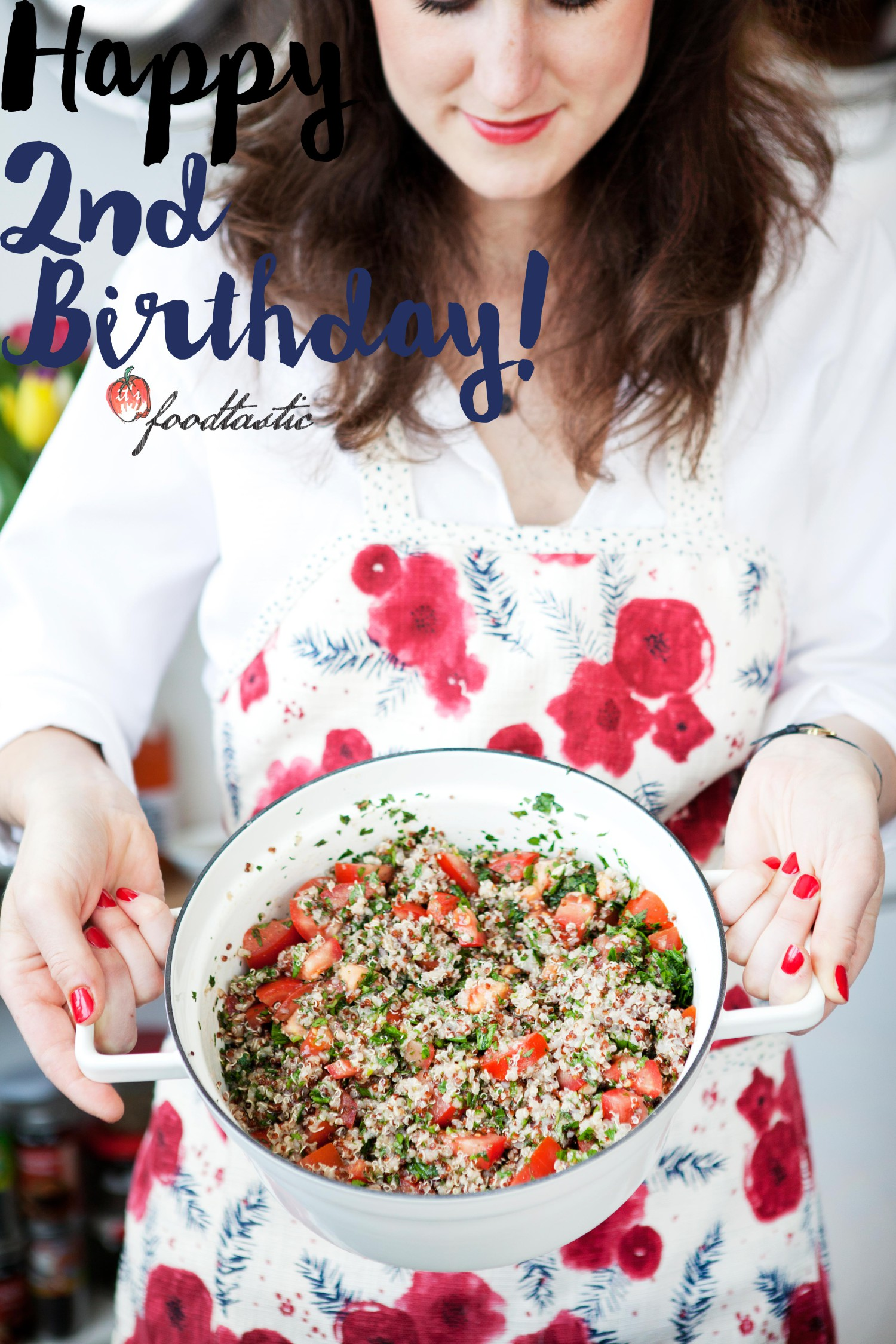 Happy 2nd Birthday Foodtastic