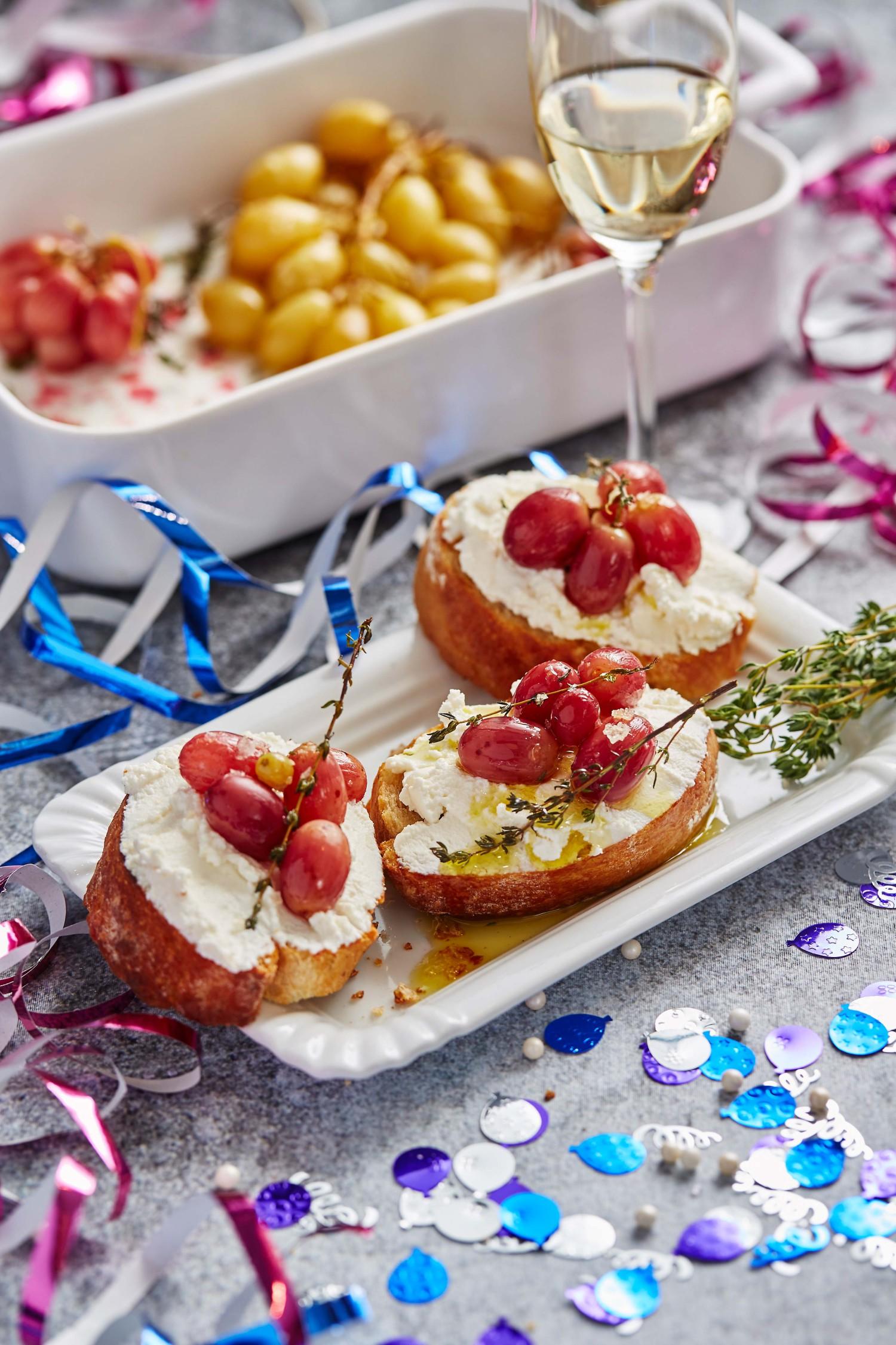 New Year's Eve Snacks & Rites