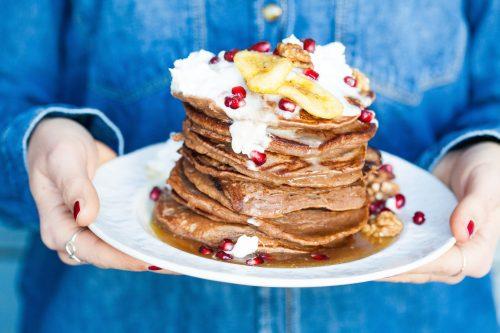 Bild für Bananen-Walnuss-Pancakes