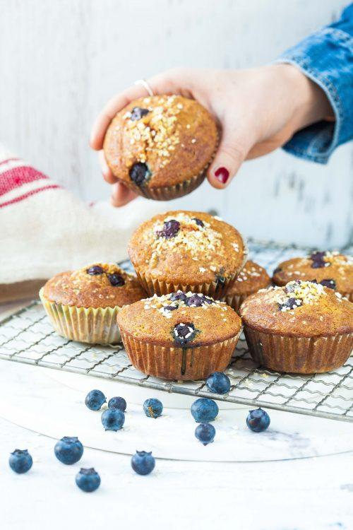 Bild für Hirse-Kurkuma Muffins