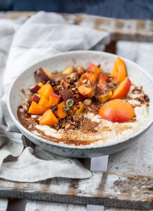 Bild für Nuss Granola & Quinoa Birchermuesli