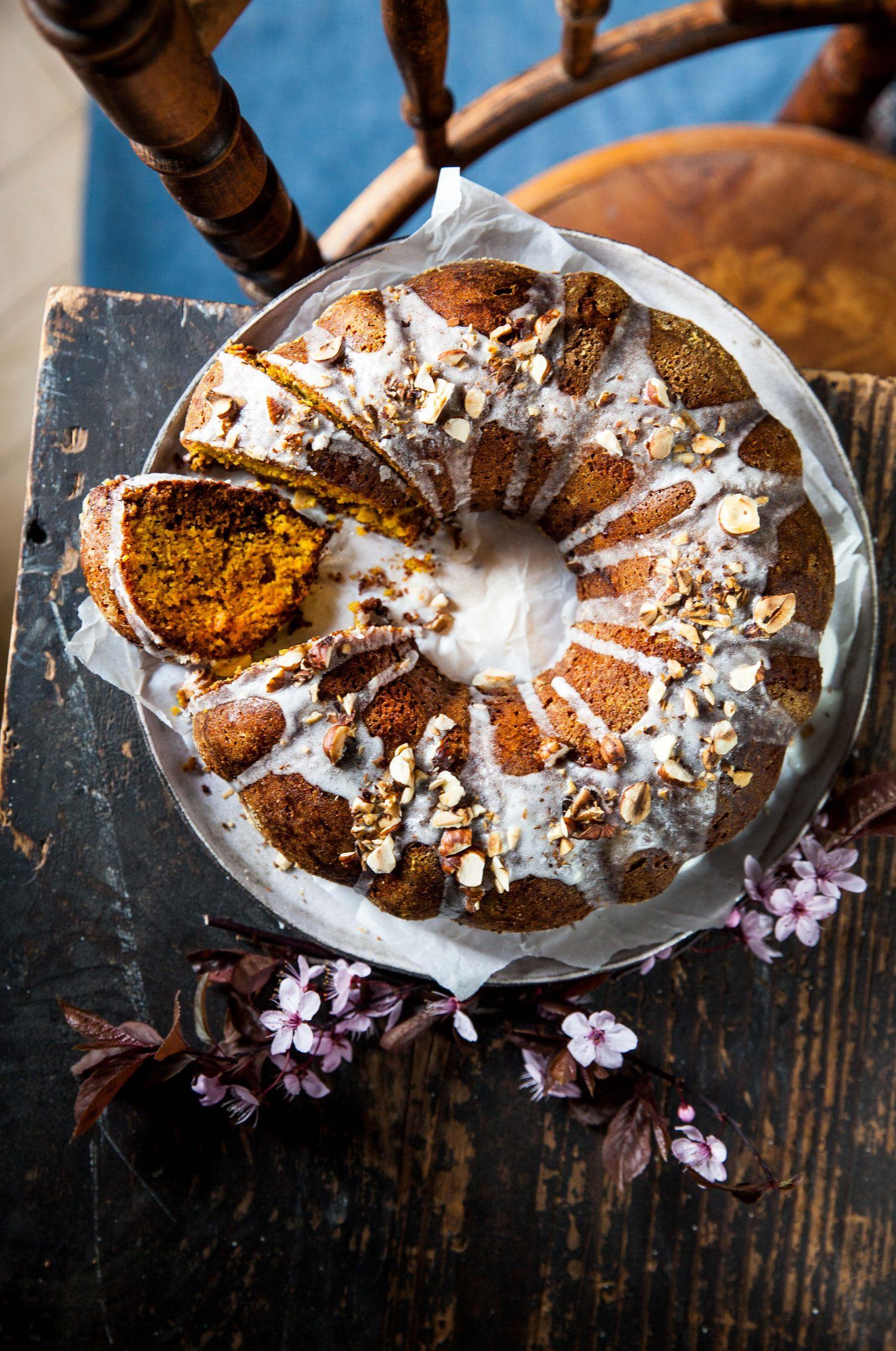 Glutenfreier Polenta-Gugelhupf