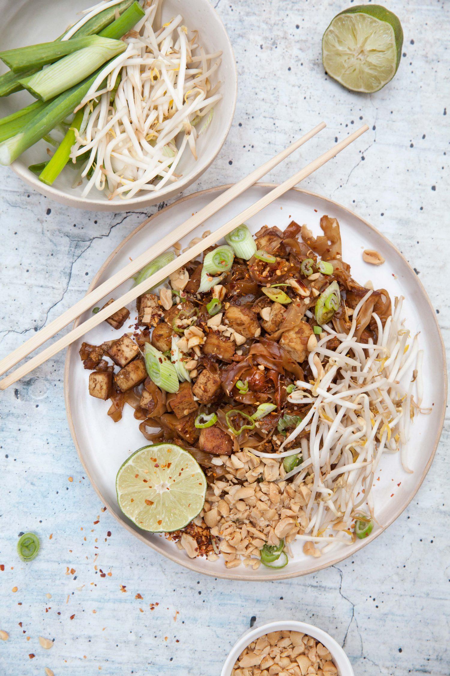 Sehnsucht nach Pad Thai mit Tofu
