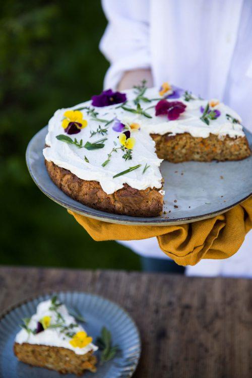 Bild für Himmlischer Karottenkuchen zum Muttertag