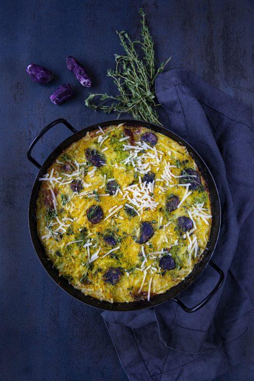 Bild für Fritatta mit veganem Käse